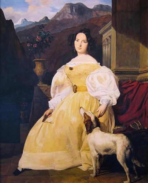 Портрет Эвелины Ганской