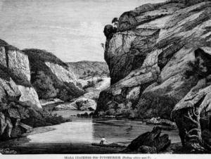 Скалы Житомира в древности