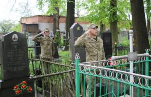 Открытие памятника еврейским жертвам нацизма в Ивановке под Житомиром. Фото