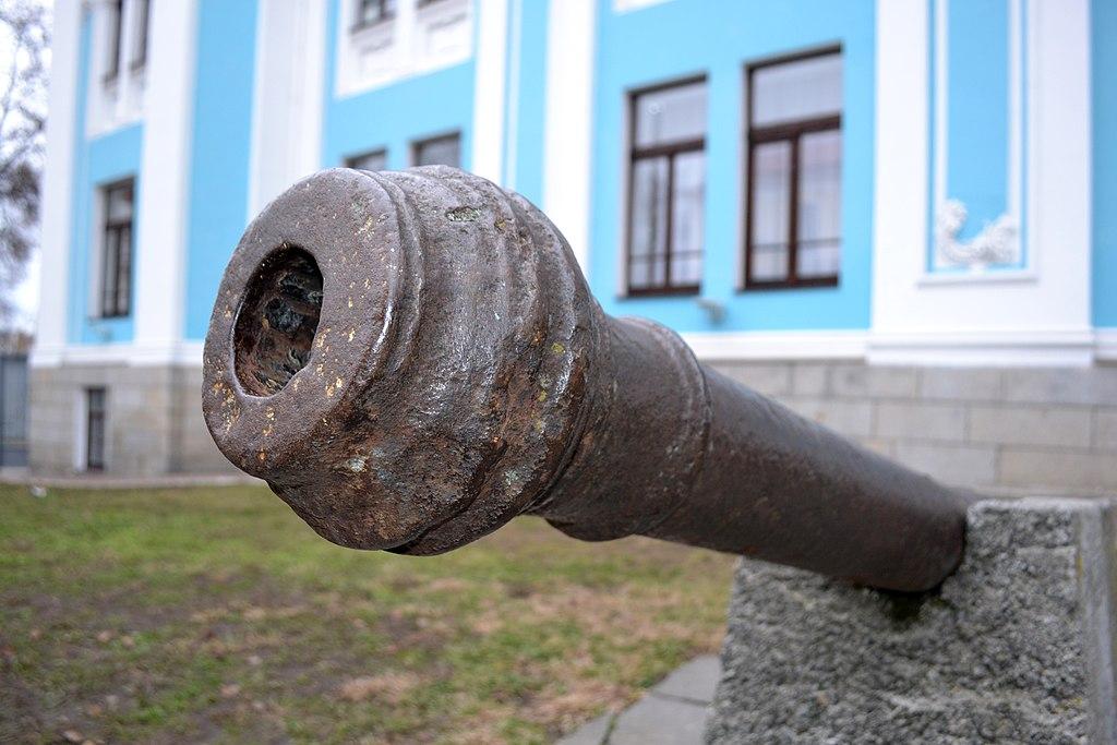 Пушка Житомирского замка
