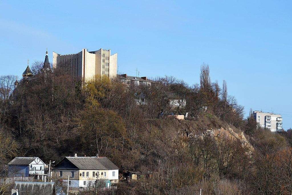 Замковая гора в Житомире