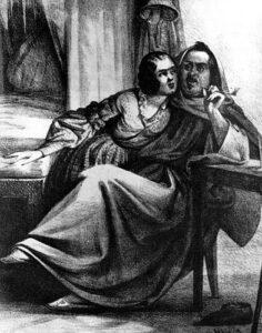 Бальзак и Эвелина Ганская