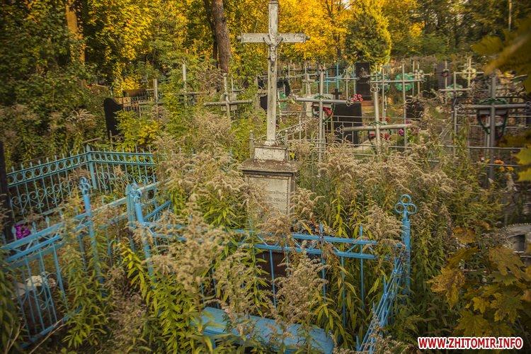 Старые могилы Смолянского кладбища