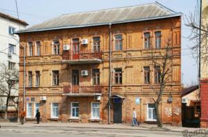 Плоский дом в Житомире