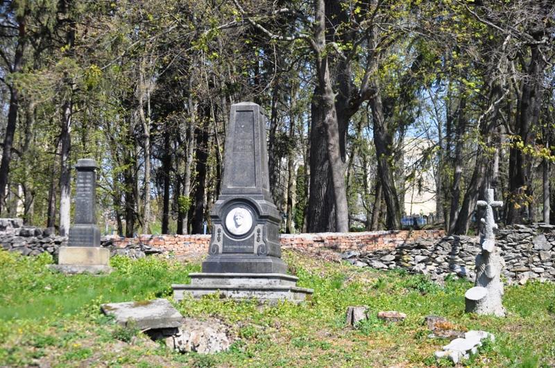 Лютеранское кладбище в Житомире