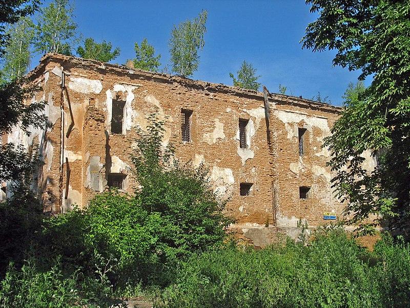 Руины иезуитского монастыря в Житомире