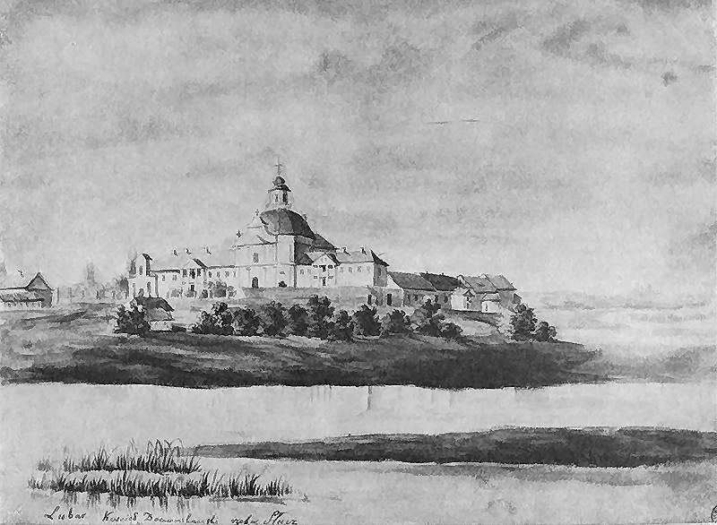 Доминиканский монастырь в Любаре