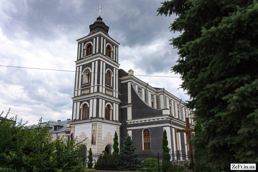 Костёл святого Иоанна из Дукли в Житомире